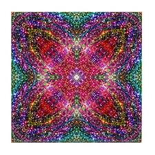 Shimmering Jewel Tile Coaster