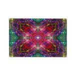 Shimmering Jewel Rectangle Magnet
