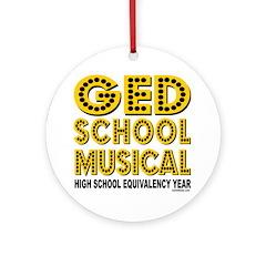 HIGH SCHOOL MUSICAL PARODY Ornament (Round)
