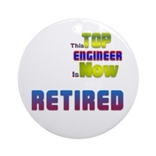 Retired Top ENGINEER Ornament (Round)