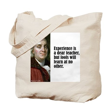 """Franklin """"Experience"""" Tote Bag"""