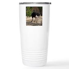 ostrich 6 Travel Coffee Mug