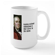 "Franklin ""Genius"" Mug"