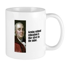 "Franklin ""Genius"" Mug"