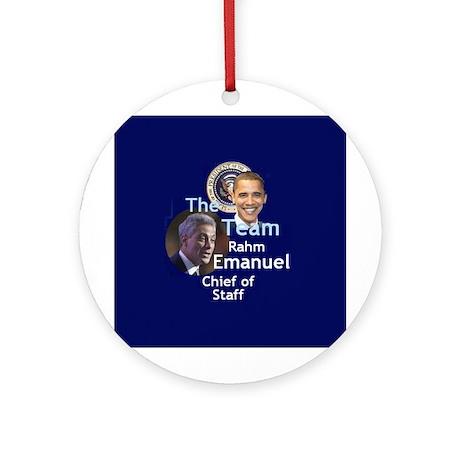 Team Emanuel Ornament (Round)
