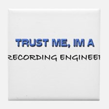 Trust Me I'm a Real Estate Broker Tile Coaster