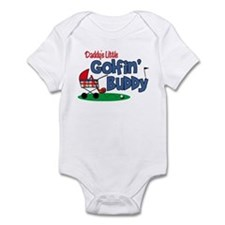 Daddy's Little Golfin' Buddy Infant Bodysuit