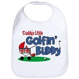 Funny golf Cotton Bibs