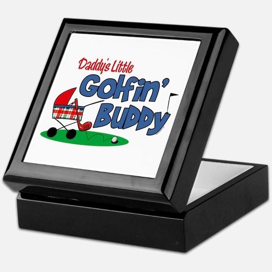 Daddy's Little Golfin' Buddy Keepsake Box