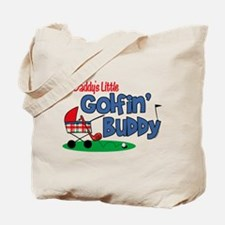 Daddy's Little Golfin' Buddy Tote Bag