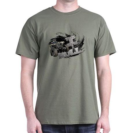 HOW I ROLL QUAD Dark T-Shirt
