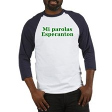 Funny Esperanto Baseball Jersey