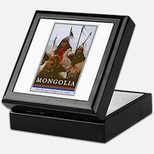 Mongolia Keepsake Box