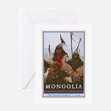 Mongolia Greeting Card