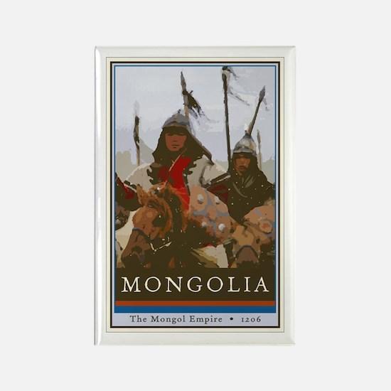Mongolia Rectangle Magnet