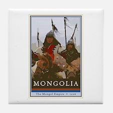 Mongolia Tile Coaster