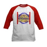 Wyoming-3 Kids Baseball Jersey