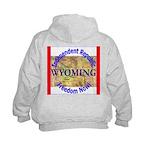 Wyoming-3 Kids Hoodie
