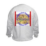 Wyoming-3 Kids Sweatshirt