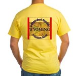 Wyoming-3 Yellow T-Shirt