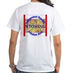 Wyoming-3 White T-Shirt
