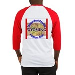 Wyoming-3 Baseball Jersey