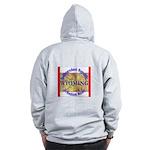 Wyoming-3 Zip Hoodie