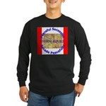 Wyoming-1 Long Sleeve Dark T-Shirt