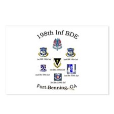 198th Inf BDE com Postcards (Package of 8)