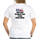 I'm a Texas Woman V-Neck T-Shirt