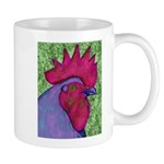 Red/Purple Rooster Mug