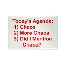 Today's Agenda: Chaos Rectangle Magnet