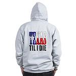 Texas Til I Die Zip Hoodie