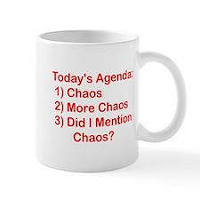 Today's Agenda: Chaos Mug
