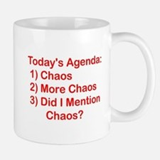 Today's Agenda: Chaos Mug