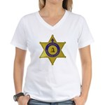 Riverside Sheriff Women's V-Neck T-Shirt