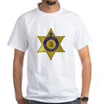Riverside Sheriff White T-Shirt