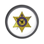 Riverside Sheriff Wall Clock
