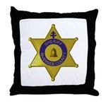 Riverside Sheriff Throw Pillow