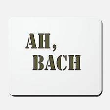 Ah, Bach Mousepad