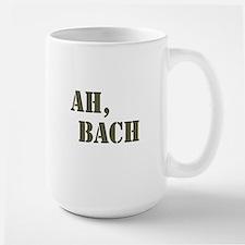 Ah, Bach Large Mug