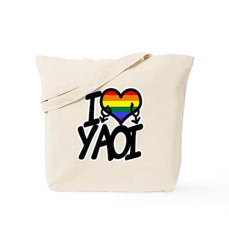 I heart YAOI Tote Bag