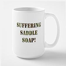 Suffering Saddle Soap Mug