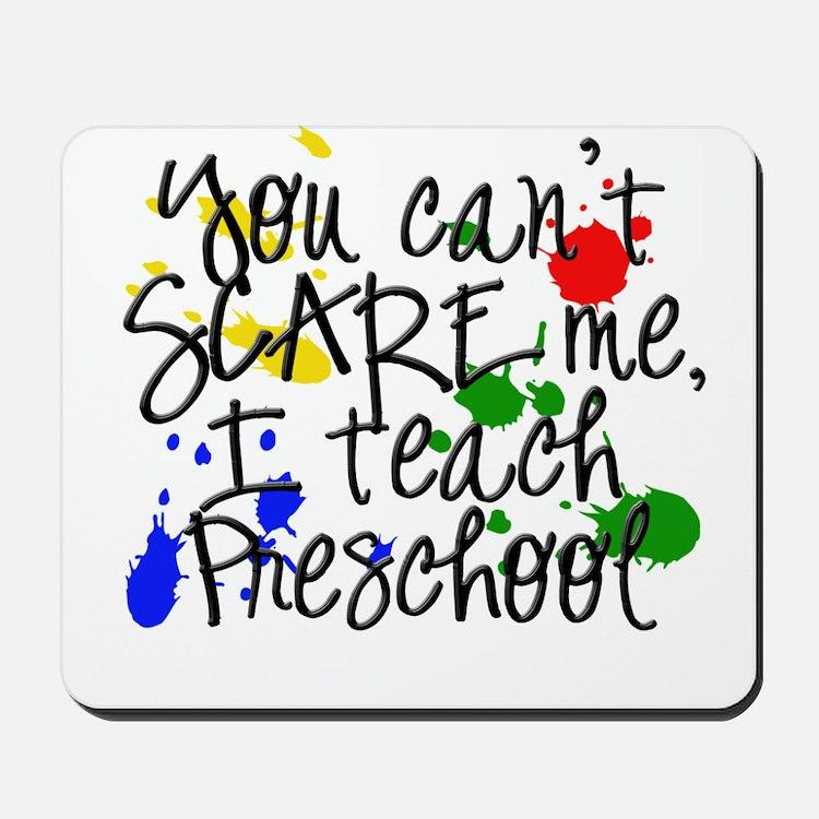 Preschool Scare Mousepad