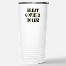 Great Gopher Holes Travel Mug
