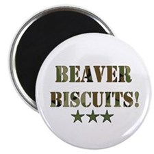 Beaver Biscuits Magnet