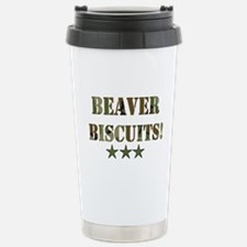 Beaver Biscuits Travel Mug