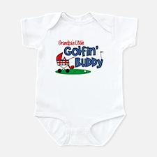 Grandpa's Little Golfin' Buddy Infant Bodysuit