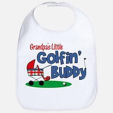 Grandpa's Little Golfin' Buddy Bib