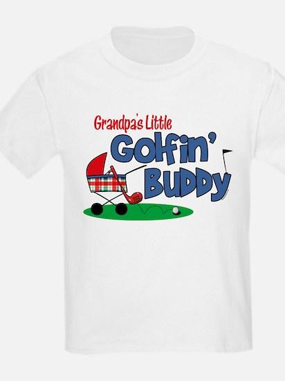 Grandpa's Little Golfin' Buddy T-Shirt
